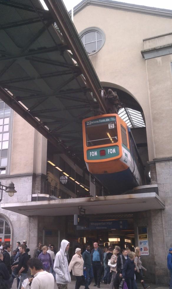 Wuppertal, Germany: die Schwebebahn