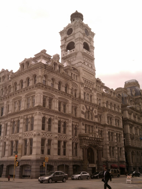 Old Building in Downtown Milwaukee, WI