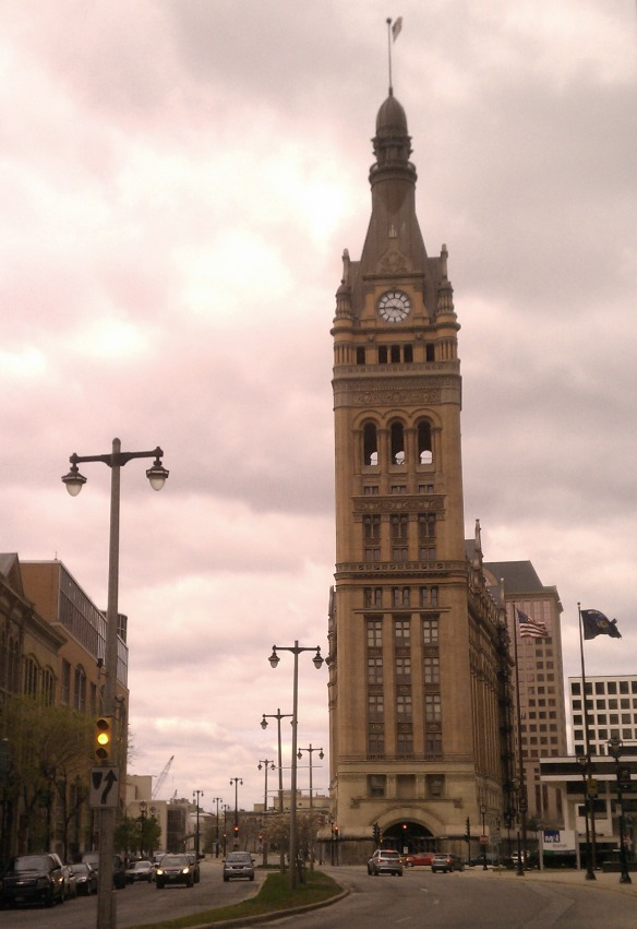 Central Tower Building in Downtown Milwaukee