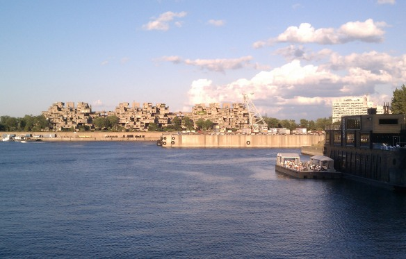 A walking tour of Vieux Montreal by Mick Ricereto - View of Habitat 67