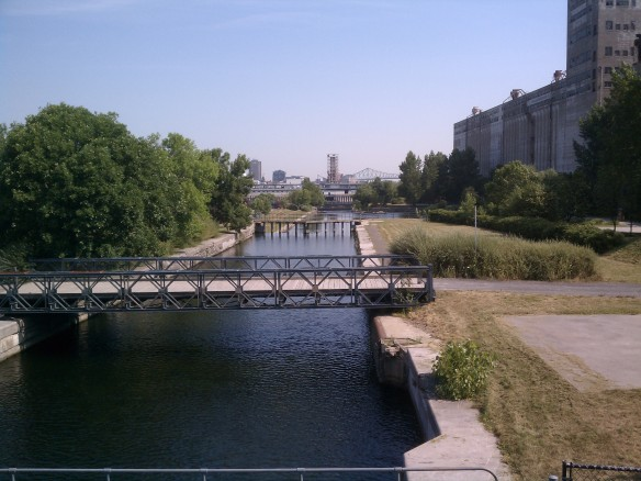 A walking tour of Vieux Montreal by Mick Ricereto - Lachine Canal
